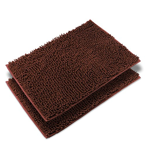 VDOMUS Absorbent Microfiber Shaggy Bathroom product image