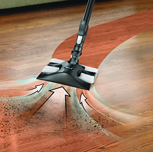 Large Product Image of Shark Rocket Ultra-Light Corded Bagless Vacuum for Carpet and Hard Floor Cleaning with Swivel Steering and Car Detail Set (HV302), Gray/Orange