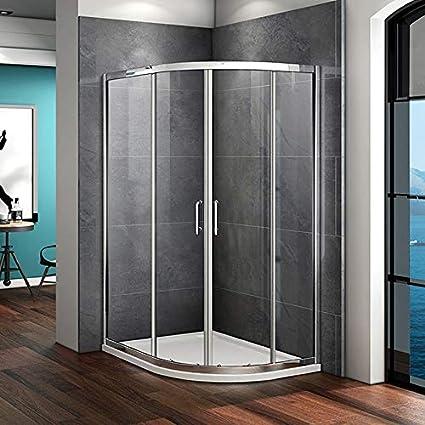 900 x 800 mm cuadrante ducha almacenaje doble puerta corredera 6 ...