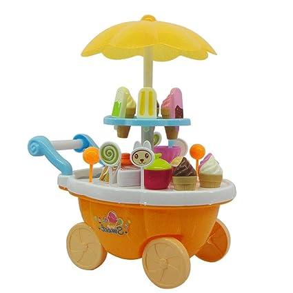 Amazon.com: Godyluck Carro de caramelos para niña, helado ...