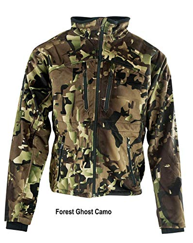SnipeNstrike Puma Jacket Chaqueta, Hombre, Forest Ghost ...