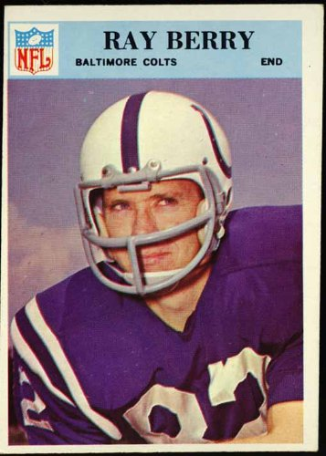 - Raymond Berry (Baltimore Colts) 1966 NFL Football Trading Card (Philadelphia Chewing Gum) (#15)