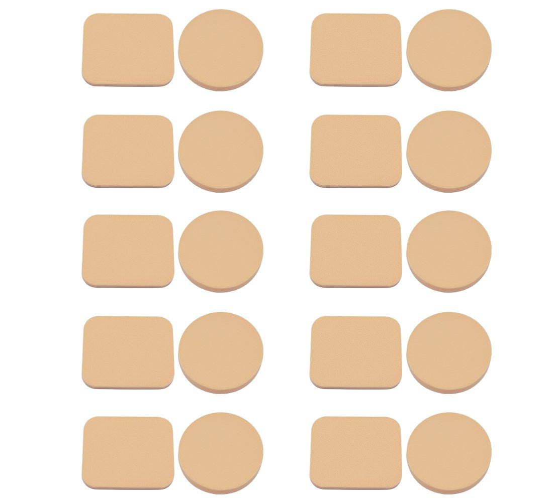 Homgaty Kosmetikschwämmchen für Puder und Make-Up, 20Stück 20Stück