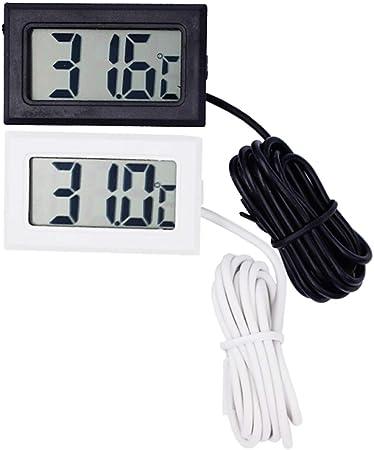 Yangyme Thermo-hygromètre 2 PCS Mini Numérique Thermomètre ...