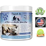 Majick Is Dog Calming Treats, Calming Treats For Dogs, Calming Dog Treats -Digestive Enhancing Calming Chews For Dogs By Chamomile Flower, Passion Flower, Natural Amino Acid, Calms Stress (100 count)