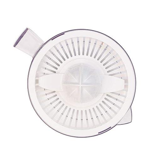 Solac Citro 40 Exprimidor W, 0.5 litros, Transparente, Color blanco: Amazon.es: Hogar