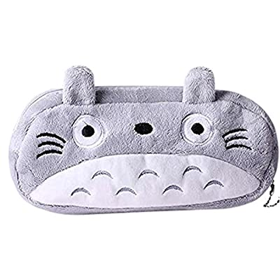 HABA Totoro Cute Plush Pencil/Pen Bag Pouch : Office Products