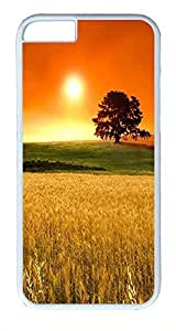 ACESR Autumn Sunset iPhone 6 Hard Shell Case Polycarbonate Plastics Stylish Case for Apple iPhone 6(4.7 inch) White