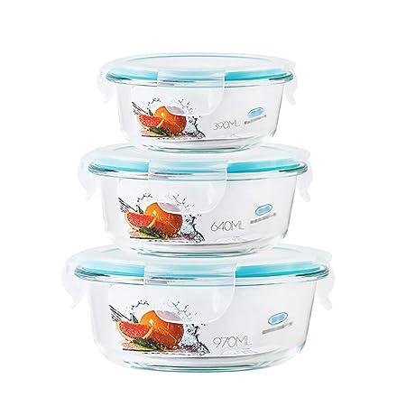 Recipiente para alimentos apilable, caja de microondas ...
