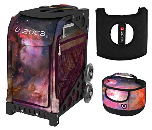 Zuca Galaxy Sport Insert Bag & Black NFW Frame with Gift Lunchbox + Seat Cushion by ZUCA