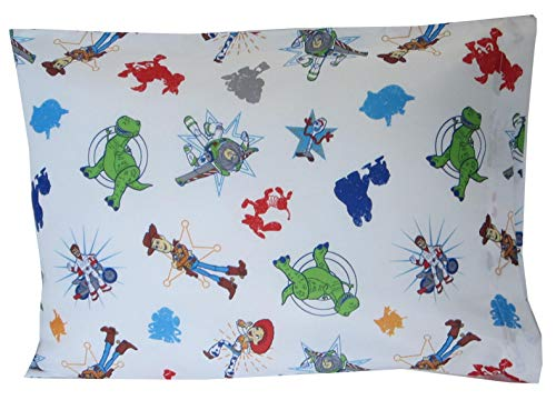 Toddler Pillowcase 16x20 Woody & Friends Toy Story 4 Kids Bedding