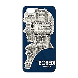 CCCM Bored Sherlock 3D Phone Case for Iphone 6 plus 5.5