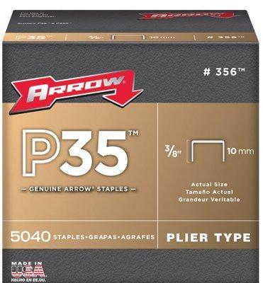 3/8' Staple for P35 & P35S 5040 PER Box Arrow Fastener Products