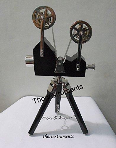 THORINSTRUMENTS (with device) Vintage Designer Wooden Camera Projector with Black Tripod Retro Look Nautical by THORINSTRUMENTS (with device) (Image #3)