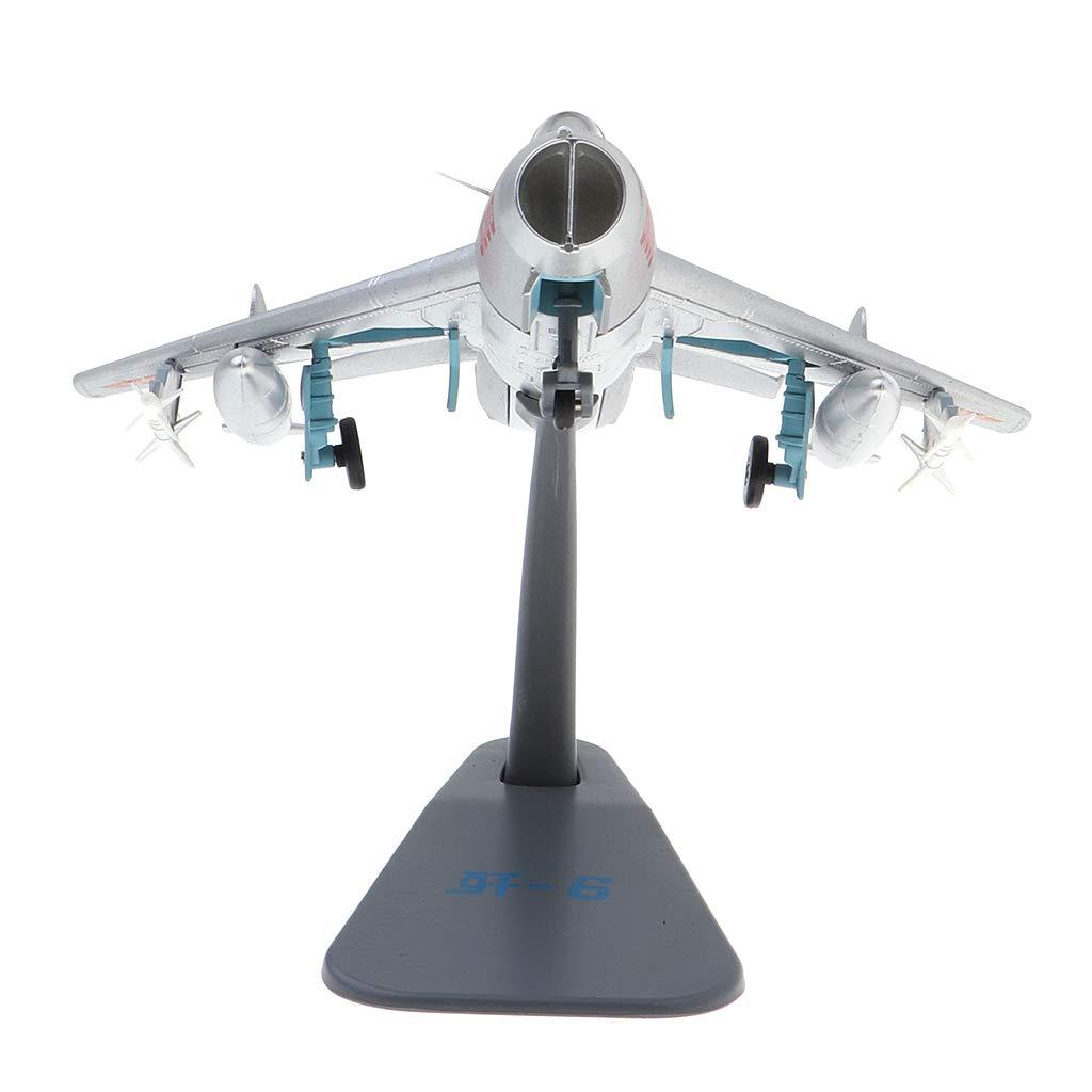 J-6 Moul/é sous Pression /à L/'/échelle 1//72 avec Support d/'Affichage en M/étal J-5 Homyl Mod/èle Avion Fishcan J-5 J-7