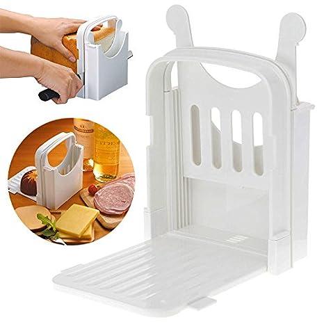 LianLe - Máquina para cortar pan tostadas cortador plegable y ...