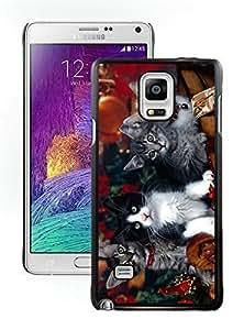 Provide Personalized Customized Christmas Kittens Black Samsung Galaxy Note 4 Case 1 Kimberly Kurzendoerfer
