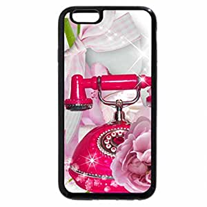 iPhone 6S / iPhone 6 Case (Black) Peonies of Time
