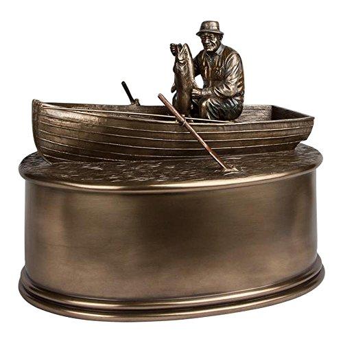 Perfect Memorials Fisherman Boat Urn