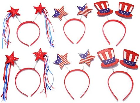 Moon Boat Patriotic Boppers Headband product image