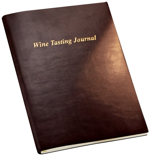 Wine Enthusiast Leather Tasting Journal