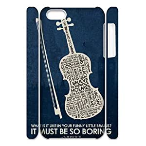 221B CUSTOM 3D Case Cover for iPhone 5/5s LMc-36603 at LaiMc