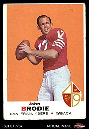 48d1d04f6af 1969 Topps   249 John Brodie San Francisco 49ers (Football Card) Dean s  Cards 2
