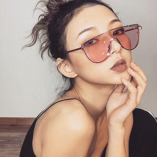 Gafas UN de Las SLR de do Un la Manera la Calle Gafas Las Gafas tamaño de de de Sol Sol Transparentes de Femeninas SxBqxd