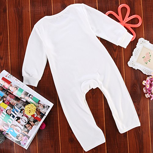 Cute Toddler Baby Girls Boys Fox Romper Bodysuit Outfits One-pieces (0-6 Months)