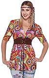 Forum Novelties Women's Generation Hippie Love Child Shirt, Multi, One Size
