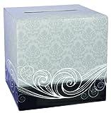Hortense B. Hewitt Wedding Accessories Damask Card Box
