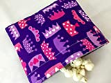 Reusable Snack Bag Eco-Friendly - Princess Life Crowns in Purple