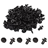 uxcell 100 Pcs 6mm Hole Retainer Clips Plastic