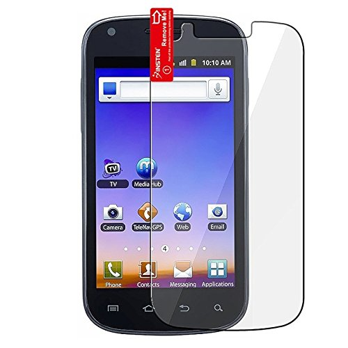 TOOGOO 2x Samsung Galaxy S Blaze 4G SGH-T769 (T-Mobile) Premium Invisible Clear LCD Screen Protector Kit (2 Piece Kit)