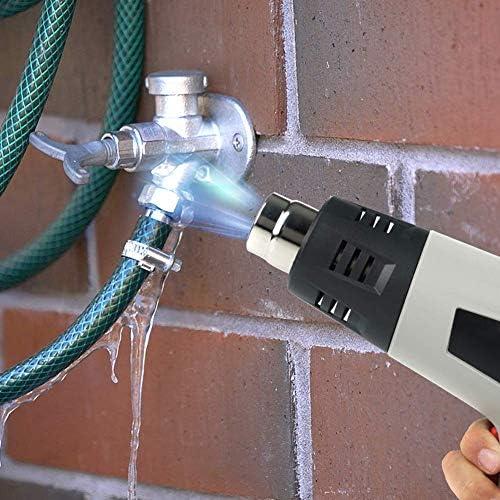 WYJW 220V Professional Heat Gun, 2000W Electric Heating Gun 2 Temp Settings (350℃-550℃) Heavy Industrial Duty Hot Air Gun