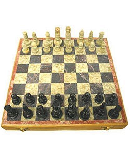 Artisan Soapstone Chess Set by OL