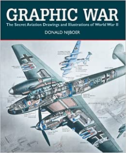 Image result for graphic war the secret aviation drawings and illustrations of world war II