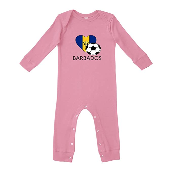 17efb3b2504982 Amazon.com  Love Barbados Style 2 Baby Legged Long Rib Coverall Bodysuit -  Soft Pink  Clothing