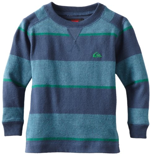 Quiksilver Little Boys' Snit Stripe Kids Knit Shirt