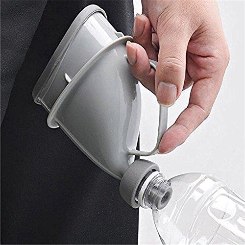 Jiali Urinoir Portable de Voyage pour Adulte ou Enfant Unisexe Potty Peeing Debout Homme Femme Toilette Portable Urinoir