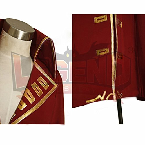 1791's lady Men's Pirate Henry Morgan Captain Costume Coat+Hat -XXL by 1791's lady (Image #4)