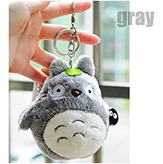 Bamboos Grocery Totoro Plush with Keychain,Best Gift for Children, My Neighbor Totoro Totoro