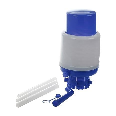 SODIAL(R)Bomba de mano de agua potable embotellada 5-6 galones con