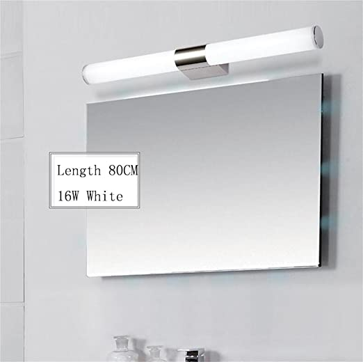 luci specchio LED camere da letto moderne e minimaliste bagno in ...