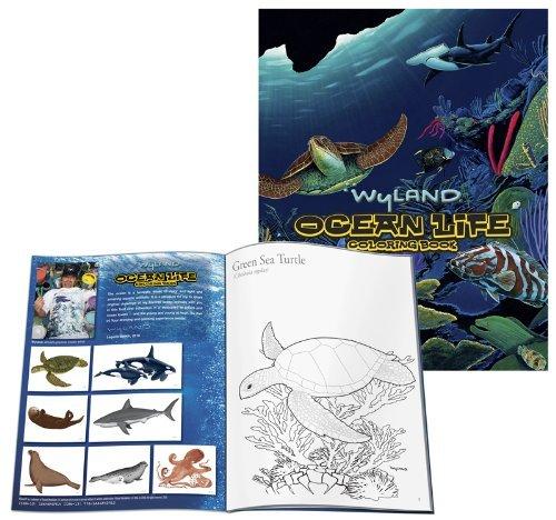(Wyland: Ocean Life Coloring Book)