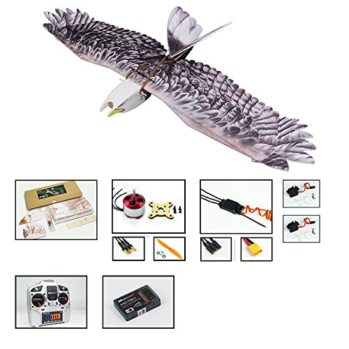DW Hobby RC EPP Electric Airplane 1430mm Eagle unassembled Scale Aeroplane 3CH Remote Controlled Aircraft for Beginner Model Aeroplane to Build Hobby RC Toy Plane (E0704-L4)