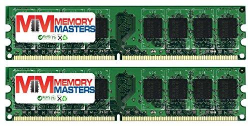MemoryMasters 2GB 2X 1GB DDR2 800MHz PC2-6300 PC2-6400 DDR2 800 (240 PIN) DIMM Desktop Memory
