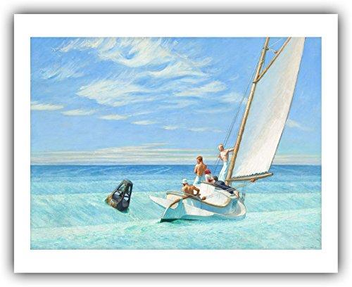 Hopper Edward Ground Swell Art - Edward Hopper :