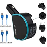 EXLENE Nintendo 3ds Charger Power Adapter,Portable
