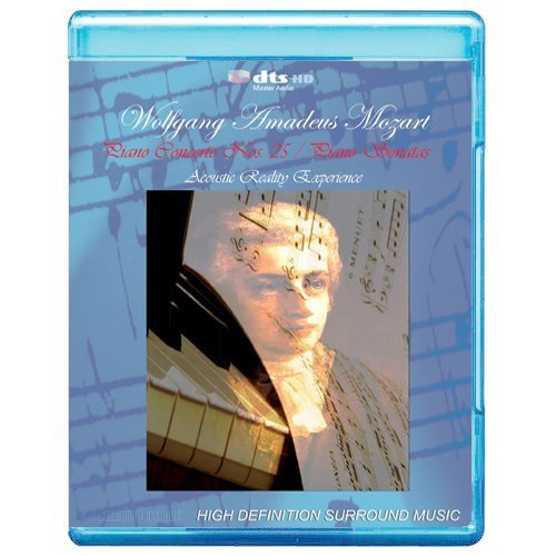Wolfgang Amadeus Mozart: Piano Concerto No.25 / Piano Sonatas - Acoustic Reality Experience [7.1 DTS-HD Master Audio Disc] [BD25 Audio Only] [Blu-ray] ()